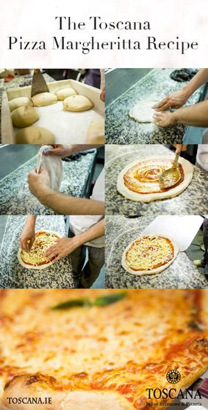 Margherita Pizza Recipe - Toscana Italian Restaurant Dublin