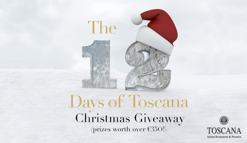 The 12 Days of Toscana - Italian Restaurant Christmas Competition