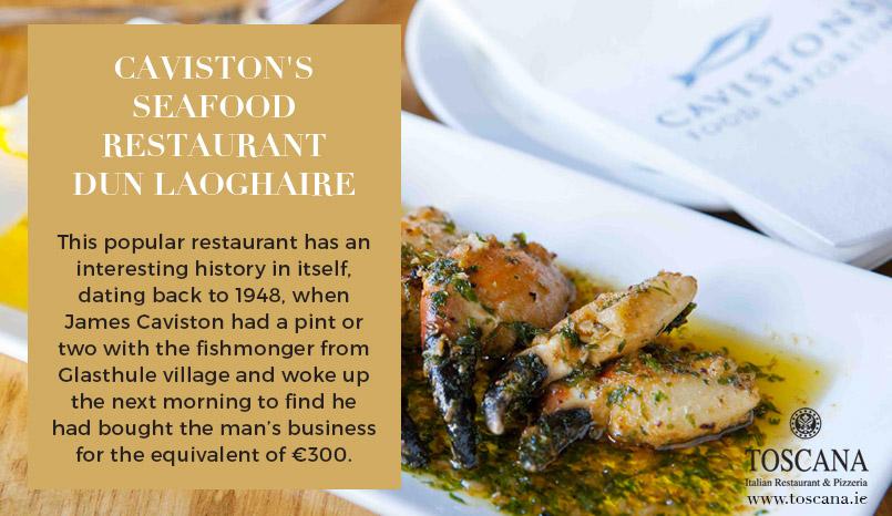 Cavistons Seafood Restaurant Dun Laoghaire - Toscana
