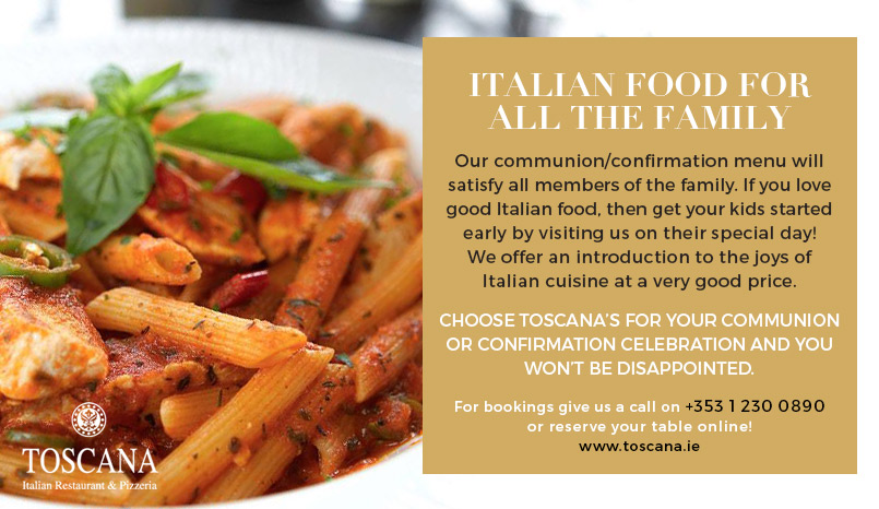 Family Friendly Italian Restaurant - Toscana Dublin
