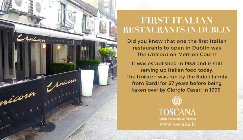 First Italian Restaurant in Dublin