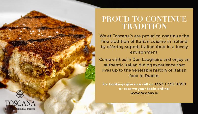 Italian Food in Dublin - A Long Tradition