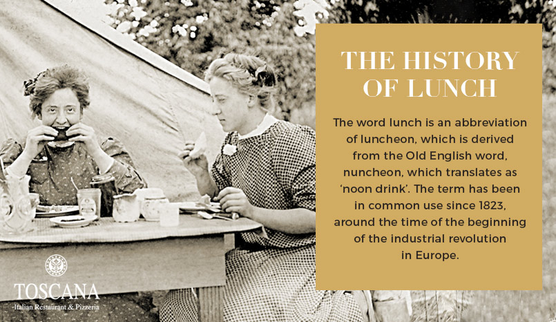 The History of Lunch - Luncheon