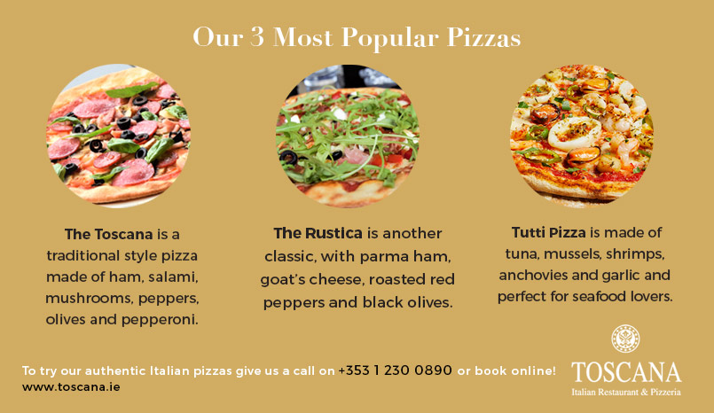 Genuine Italian Pizzas - Top 3 Pizzas Ireland