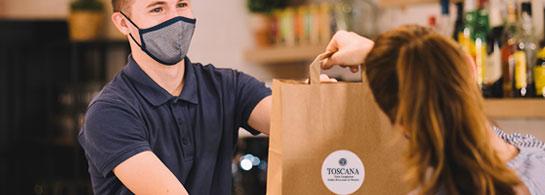 Toscana - Take Away - Italian Restaurant Dublin